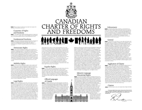the canadian charter of rights and freedoms essay Personal values 5 key rights and responsibilities we will write a custom essay in section 15 of the canadian charter of rights and freedoms it states.